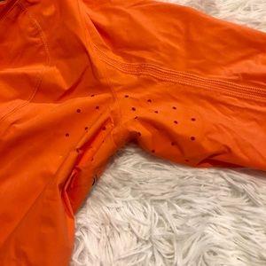 lululemon athletica Jackets & Coats - Lululemon Orange Run In The Rain Jacket Size 2